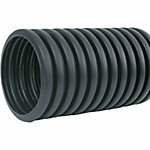 ADS Singlewall Solid Pipe, 4 in. x 10 ft.