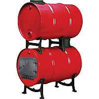 United States Stove Barrel Stove Add-On Barrel Kit