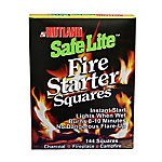 Rutland® Safe Lite™ Fire Starter Squares, Pack of 144