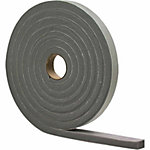 M-D Building Products Foam Tape, High-Density, 1/4 in. x 1/2 in. x 17 ft., Gray, Pack of 12, CA Prop 65 Compliant
