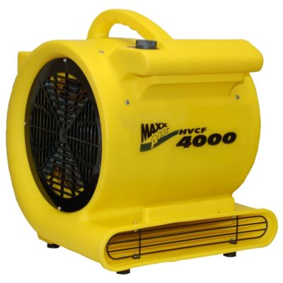 maxxair 4000 cfm heavy-duty carpet/floor blower fan