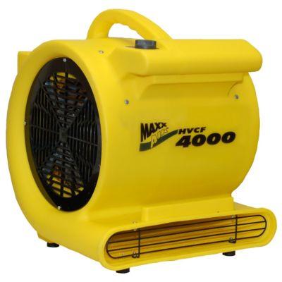 maxxair 4000 cfm heavy-duty carpet/floor blower fan