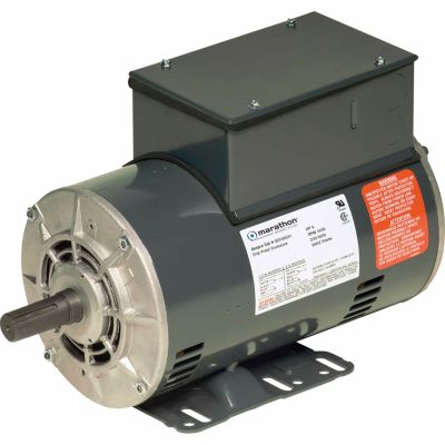 Marathon Electric® Air Compressor Motor, 6 HP
