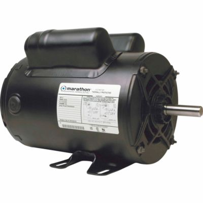 marathon electric air compressor motor 2 hp for life