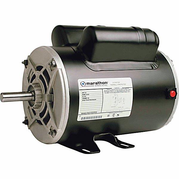 Marathon electric 3 1 2hp air compressor motor 3 450 rpm for 3 hp air compressor motor