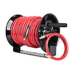 Workforce® Manual Air Hose Reel with Mounting Bracket, 3/8 in. ID x 100 ft. L, 300 PSI