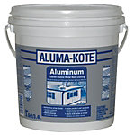 Aluma-Kote Fibered Aluminum Mobile Home Roof Coating, 1 gal.