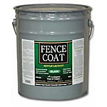 Lexington FenceCoat Acrylic Lacquer Fence Paint, 5 gal., Black