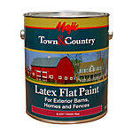 Majic® Town & Country Latex Flat Paint, 1 gal., Classic Red