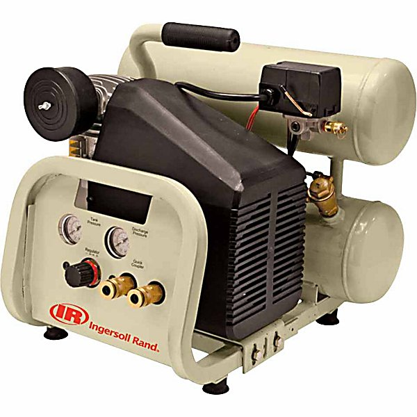 Ingersoll Rand? 2 HP 4 Gallon Twinstack Air Compressor