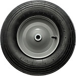 Pneumatic Tire, Ribbed Tread, 16 in. x 4.00-8