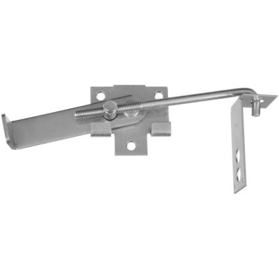 National Hardware 1264 Jamb Latch 7 In Hook Zinc At