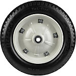No Flat Wheelbarrow Replacement Tire with 5/8 in. Axle Bore, 13 in.