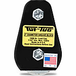 Tuf-Tug® 2 in. Plain/Tailboard Block