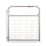 Galvanized Mesh Gate, 4 ft.