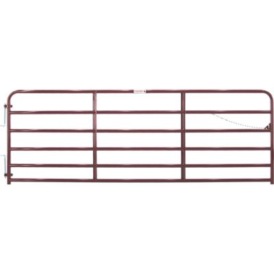 PAINTED 2 IN. TUBE GATE, 12 FT.
