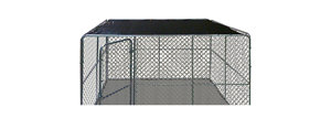 Without a doubt our modular dog kennels are the best quality & toughest kennel systems on the market. Our Base Dog Kennels are called single dog kennels, or single dog runs, that can be used as a backyard dog kennel. You can also attach our panels to an existing wall, turning a three-sided dog kennel into a four-sided dog run that can be added.