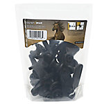 ElectroBraid™ Roller Post Insulators, Black, Pack of 10