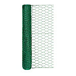 Handy Roll Green Vinyl Coated Poultry Netting, 1 in. Mesh x 24 in. H x 25 ft. L
