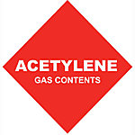 Thoroughbred Acetylene #1, 10 cu. ft., (Mc) Contents Only