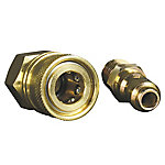 Universal by Apache Hose 1/4 in. Quick Disconnect Adapter Set