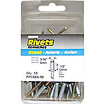 Surebonder Rivets, 3/16 in. Diameter, 1/2 in. Max Grip