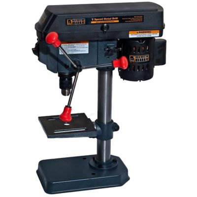 Black Bull™ Drill Press with Laser Centering Guide, 5 Speed