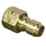 Universal™ by Apache 3/8 in. Quick Disconnect Plug x 3/8 in. Female Pipe Adapter, California Compliant