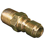Apache Hose 3/8 in. Quick Disconnect Plug x 3/8 in. Male Pipe Thread