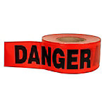 C.H. Hanson® 1.5 mil. Economy Grade Red Danger Barricade Tape, 3 in. x 1,000 ft.