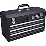 JobSmart® 3 Drawer Steel Portable Tool Chest, 20-1/2 in. L, Black