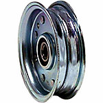 Weasler Pulley, Flat Belt Idler, 5/8 in. Bore, OD 4 in.