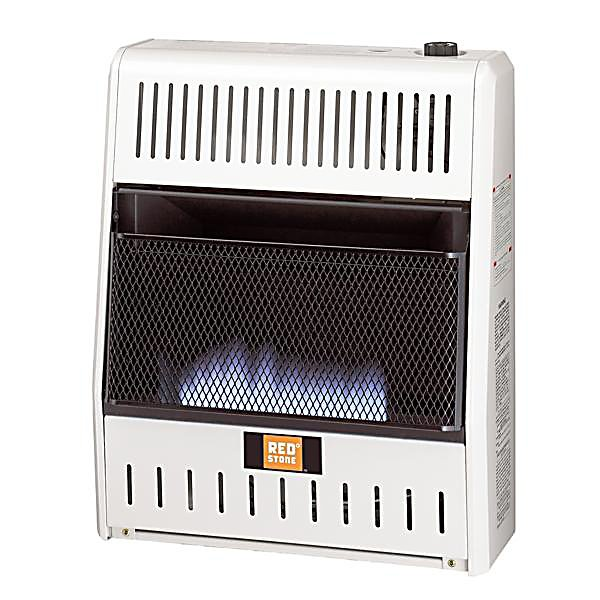 Redstone Dual Fuel Vent Free Blue Flame Heater 20 000