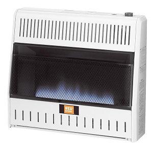 RedStone Duel Fuel Vent-Free Blue Flame Heater 30,000 BTU