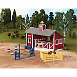 Breyer® Stablemates Red Stable Set