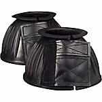 Milepost Medium Rubber Bell Boot For Horses, Black