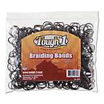 Tough-1 Equine Braiding Bands, Pack of 500, Dark Brown