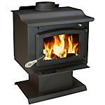 United States Stove Pedestal Heater With Blower, EPA Certified