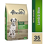 4health Lamb & Rice Formula for Adult Dogs, 35 lb. Bag