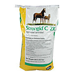 Pfizer® Strongid® C 2X (Pyrantel Tartrate) Equine Anthelmintic, 50 lb. Bag