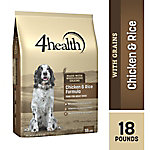 4health™ Chicken & Rice Formula for Adult Dogs, 18 lb. Bag