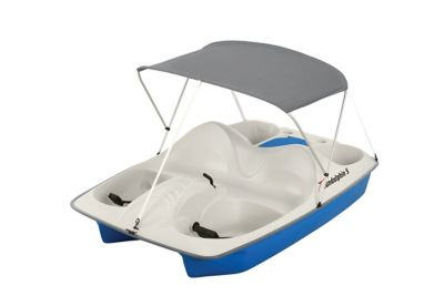 Sun Dolphin 5 Person Pedal Boat With Canopy For Life Out