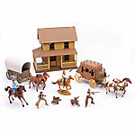 New-Ray Big Country Western Play Set