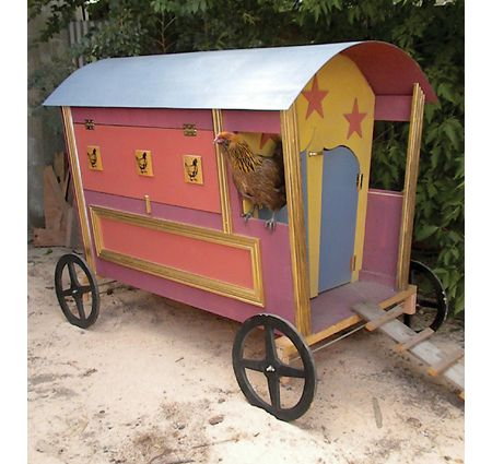 Gypsy Hen Caravan Coop Design - Tractor Supply Co.