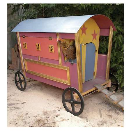 gypsy hen caravan coop design tractor supply co - Chicken Coop Ideas Design