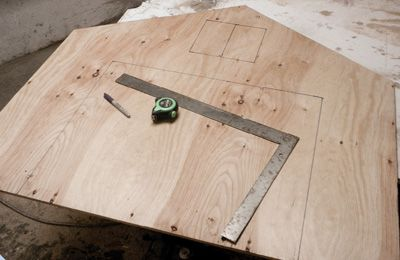 Lay out the end walls