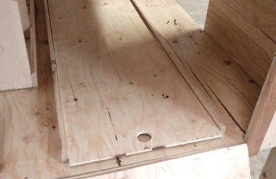 Create the poop trays