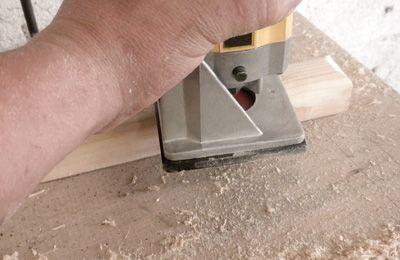 Shape the handles