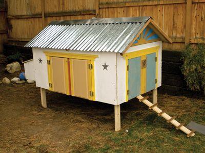 Sunny Side Up Chicken Coop Design Chicken Coops