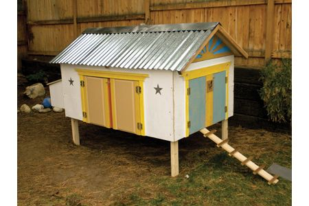 Sunny Side Up Chicken Coop Design - Tractor Supply Co.